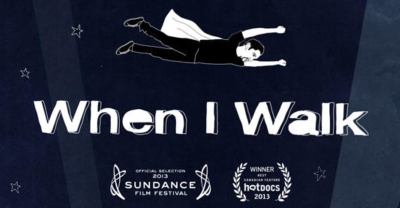 When I Walk film promo image